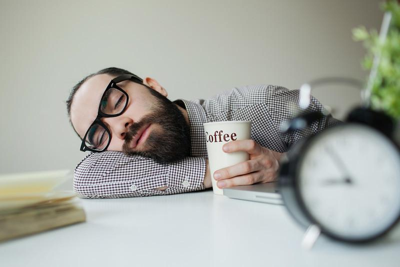 A perfect night sleep without the coffee