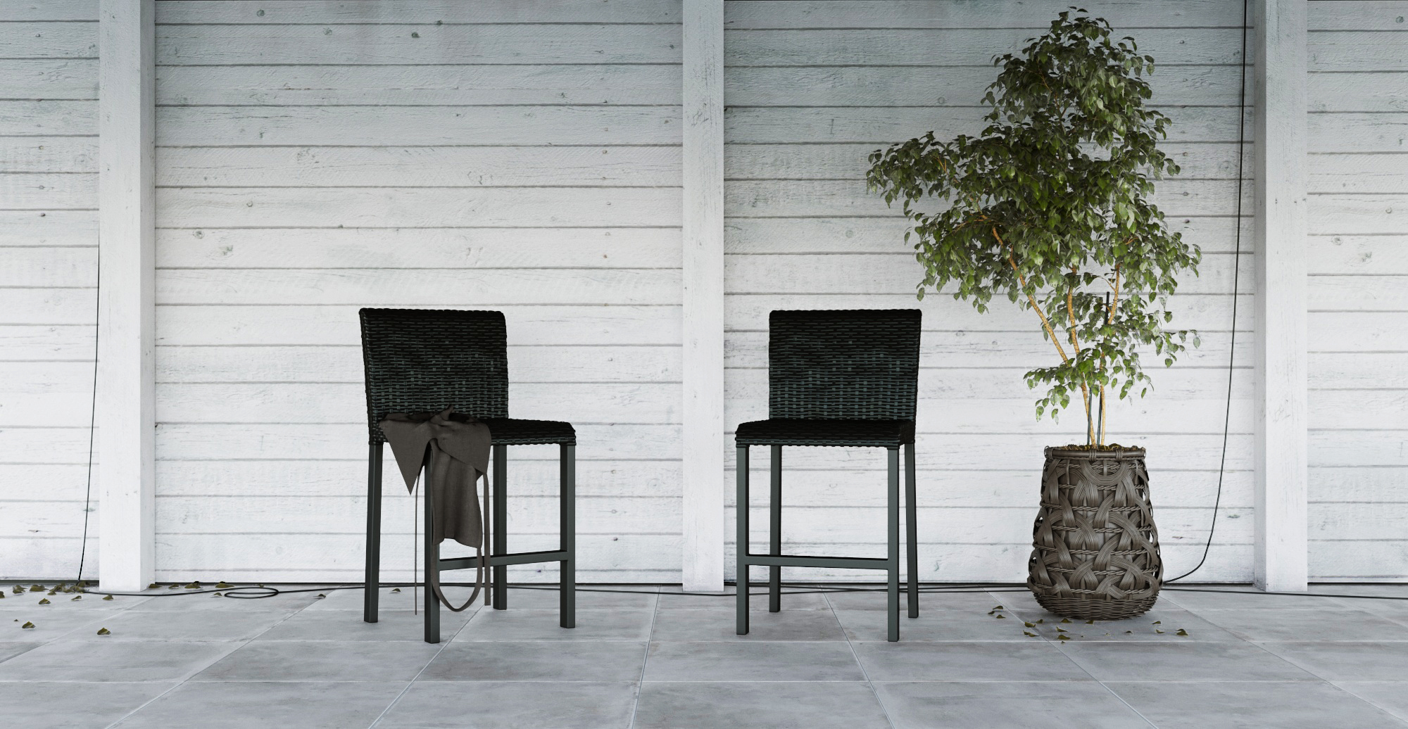 heavy duty iron outdoor furniture
