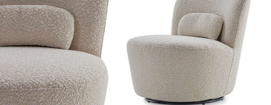 Boucle Chairs – Cosy Meets Modern Living by Jenelle Witty