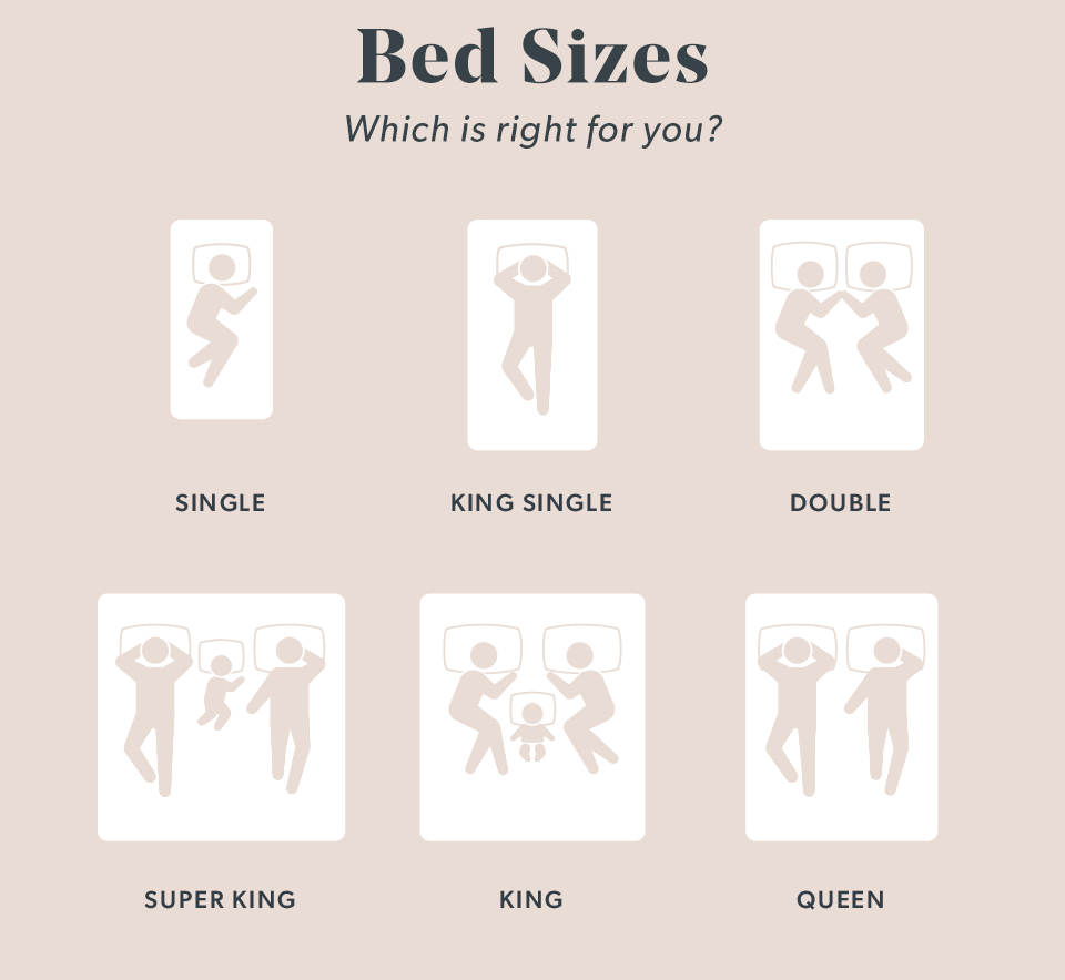 Brosa Bed Size Guide