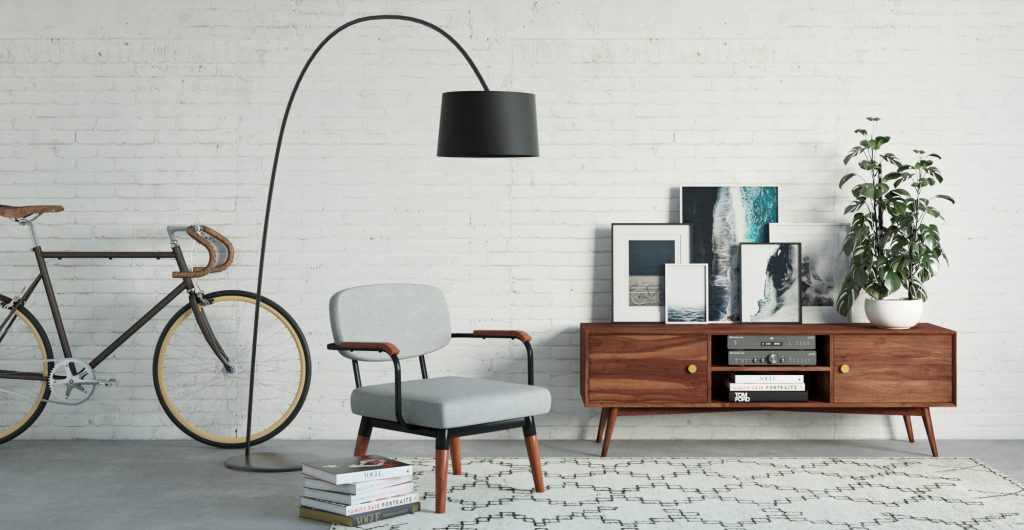Brosa Frank Entertainment Unit in Contemporary Style Living Room
