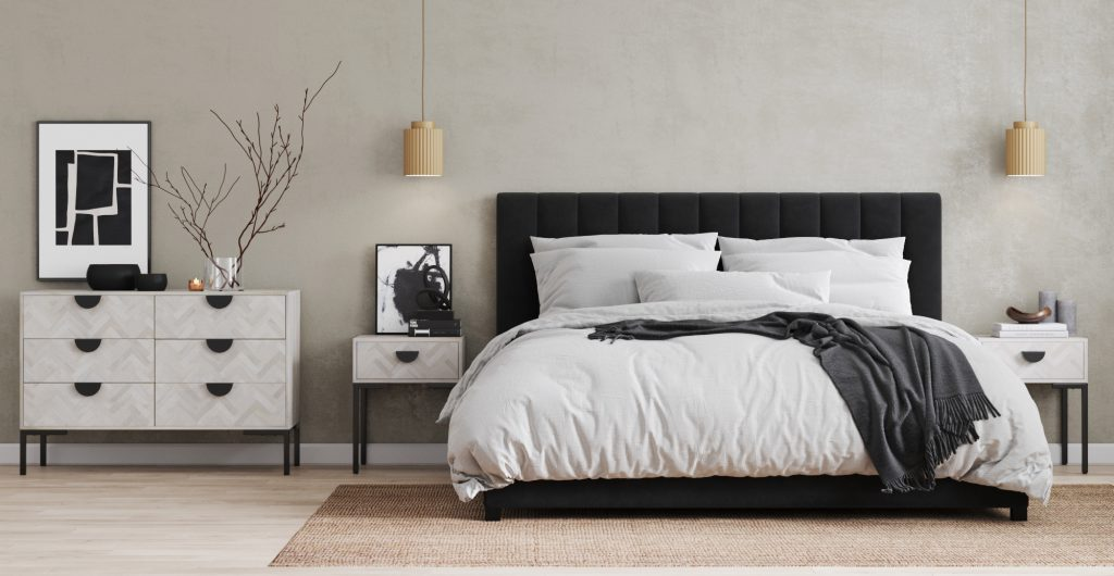 Brosa Hertz Collection in Modern Contemporary Styled Bedroom