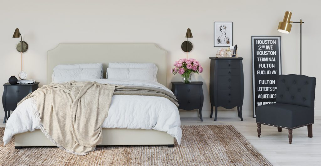 Brosa Rochefort Bedroom Storage Collection in French Provincial Style Bedroom