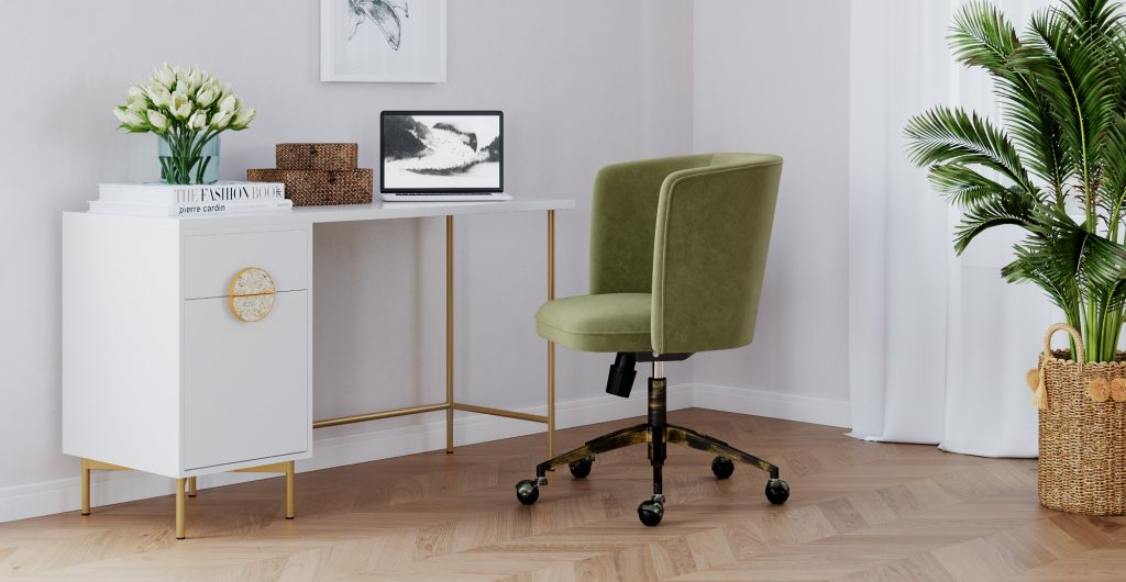 Brosa Greta Desk in Contemporary Style Home Office