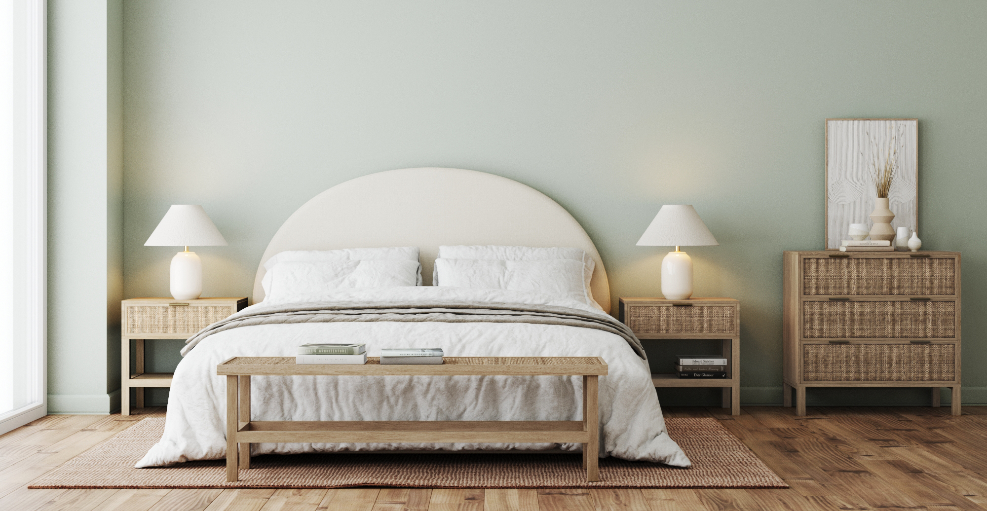 Brosa and Tint Modern Contemporary Style Bedroom