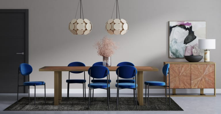 Brosa Sophie Dining Chairs in Modern Contemporary Style Dining Room